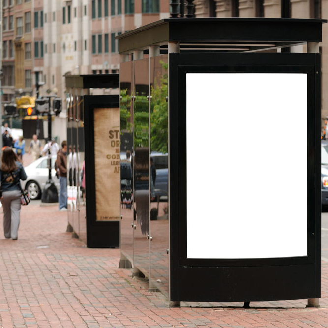 Bus Stop Advertising LED Light Boxes(China (Mainland))