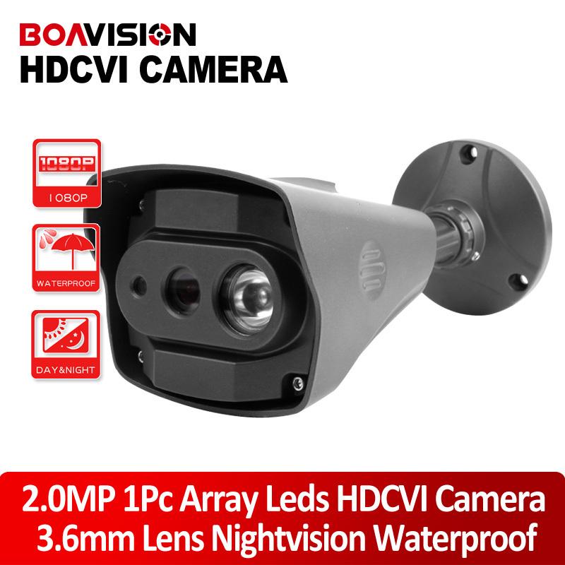 2MP 1080P HDCVI Bullet CVI Camera Outdoor 10m IR 3.6mm Lens 25/30fps Realtime Long Distance Transmission CCTV Security Camera(China (Mainland))