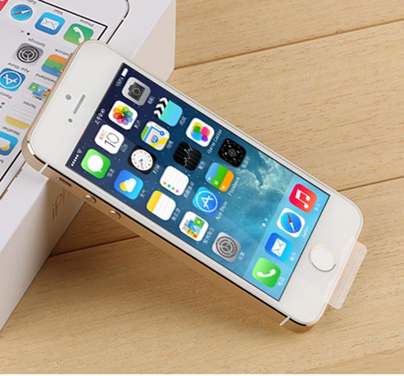 Original Apple iPhone 5S Unlocked mobile phone Dual Core16GB 8MP WIFI GPS WCDMA 3G smart Phone USED,Free DHL-EMS Shipping(Hong Kong)