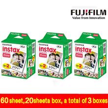Original Fuji Fujifilm Instax Mini 8 Film 6White Edge Photo Papers Polaroid 7s 90 25 55 Share SP-1 Instant Camera - yang store