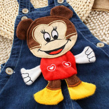 2014 NEW Newborn Baby Girls Boys Kids Overalls Denim Jeans bear Rompers Playsuits Clothes