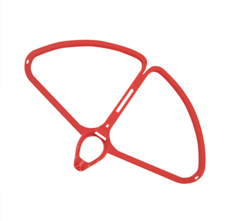 BLLRC four-axis aircraft accessories DJI Phantom 4 aerial four-axis aircraft four-axis propeller protection ring ring red