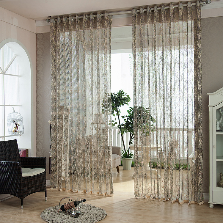 Window Curtains Luxury Sheers For Living Room Bedroom Decoration