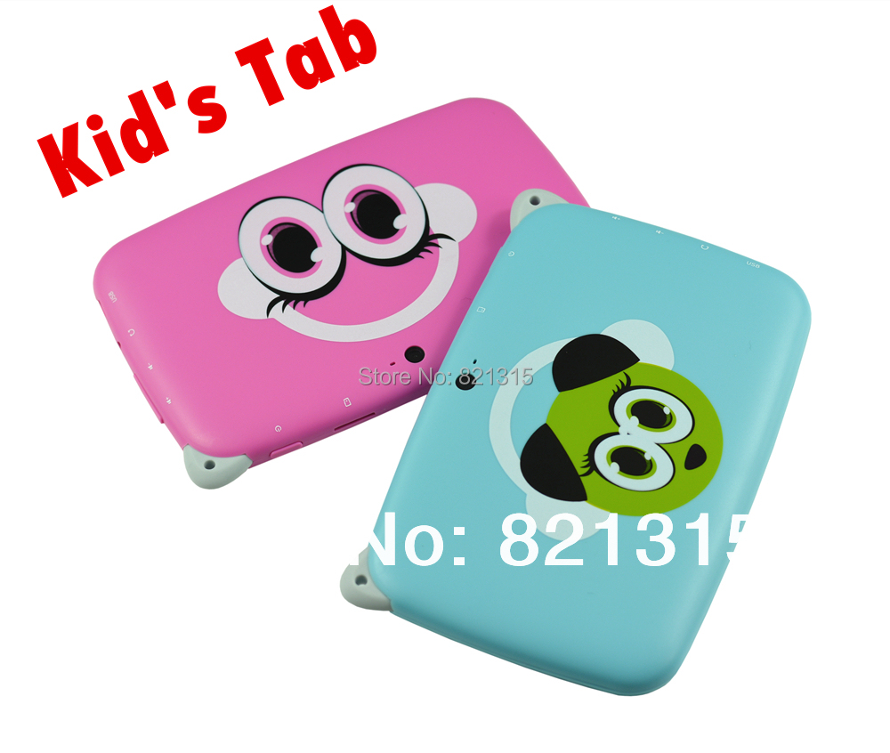 Kids Tablet PC Children Education Learning Computer 4.3inch Android 4.4 Kids Games Apps Capacitive Screen Dual Camera WiFi hot(China (Mainland))