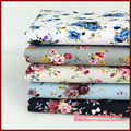 FREE SHIPPING 5Pieces lot 72 50cm Assorted Rose series Cotton sewing Fabric Diy Cloth for Patchwork