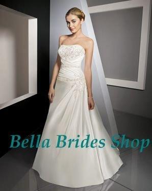 2011 Latest Designed Fashionable Corset Open Low Back Wedding Dresses