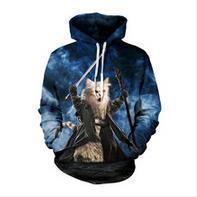 2016 New Arrival Men Hoodies man on the moon hoodie 3D Hoodies Astronaut Moon Sweatshirt moleton harajuku hooded sweatshirt men(China (Mainland))