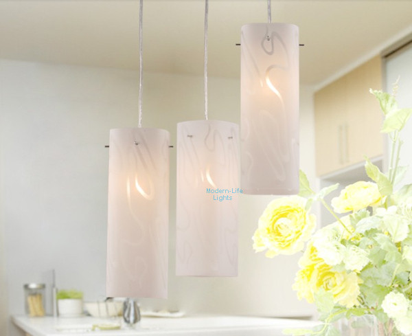 Free Shipping Modern cheap 3 Lights Frosted glass Chandelier Ceiling Light Pendant Lighting modern lamps CH-53(China (Mainland))