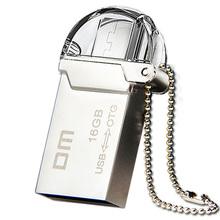 Free shipping DM PD008 OTG USB 100% 16GB USB Flash Drives OTG Smartphone Pen Drive Micro USB Metal waterproof USB Stick
