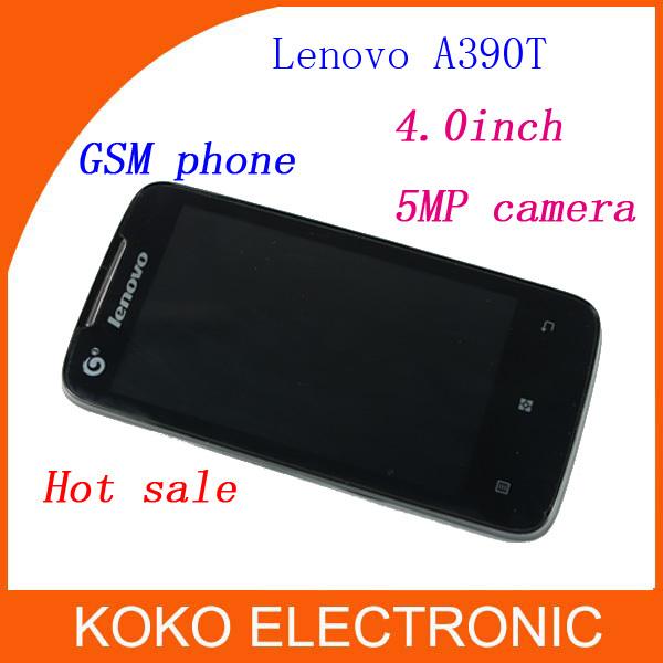 Мобильный телефон Lenovo A390 A390t 4.0 5MP Android 4.0 Lenovo p780 s820 мобильный телефон lenovo k920 vibe z2 pro 4g