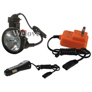 Фотография 5W Ultral Bright  LED Headlamp,Hunting Light,Miner Light Charger From Battery,Free Shipping