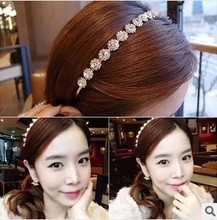 New 2014 Hot Women Wedding Hair Accessories Crystal  Hairbands Hair Jewelry Fashion Star Headbands