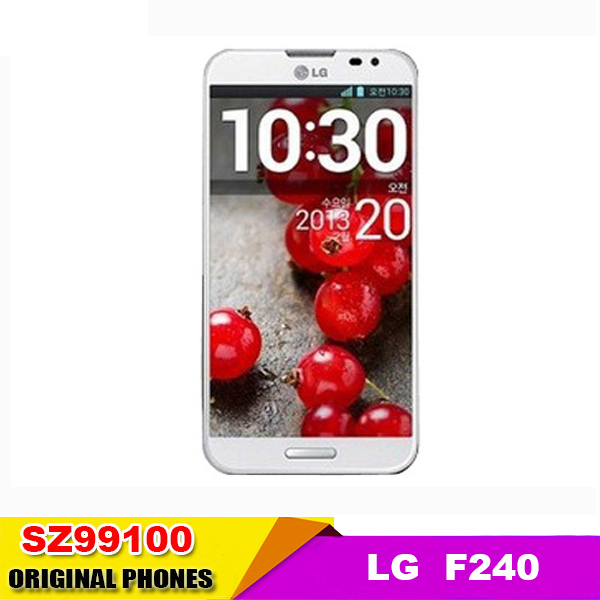 "LG Optimus G Pro F240 original cell phone Quad core 2G RAM 32G ROM 5.5"" 2.1MP 13MP Dual cameras 3G&4G Android phone Refurbished(China (Mainland))"