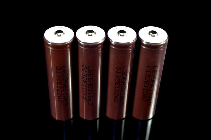 ถูก 1ชิ้นใหม่เดิมLG HG2 18650 3000มิลลิแอมป์ชั่วโมงแบตเตอรี่18650HG2 3.7โวลต์ชี้แบตเตอรี่ปล่อย20Aสำหรับบุหรี่อิเล็กทรอนิกส์กับPCB