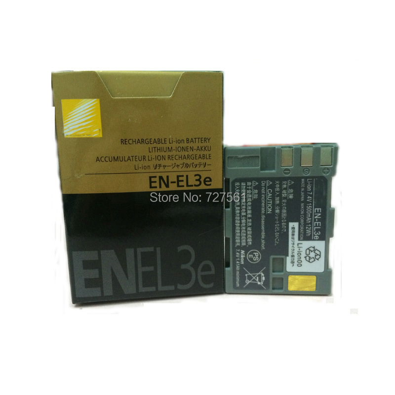 EN-EL3e Digital Camera Batteries EN-EL3a EN EL3e ENEL3e Battery Pack for Nikon D300S D300 D100 D200 D700 D70S D80 D90 D50 MH-18A(China (Mainland))