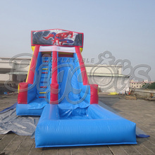 7*4*3.5M commercial Inflatable slide, jumping slide with pool for sale(China (Mainland))