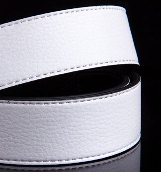 Free shipping hot 2015 fashion pu cowskin leather belt good quality h buckle trouser hip belts for men(China (Mainland))