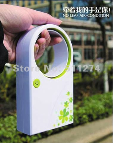 Wholesale No leaf Air conditioning fan conditioning fan,Summer Mini portable Air Conditioners, Air cooler with USB,6/pieces(China (Mainland))
