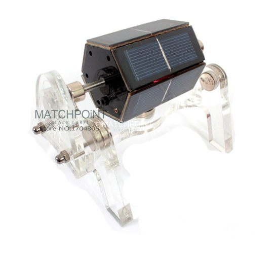 Cool ExcellentQuality The High Sensitivity Of Mendocino Motor Magnetic Solar Creative Stirling energy geek model Ornaments gift(China (Mainland))
