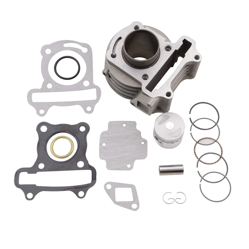 GOOFIT 39mm Bore Cylinder Rebult Kit for font b GY6 b font 50cc Moped Scooters Motorcycle