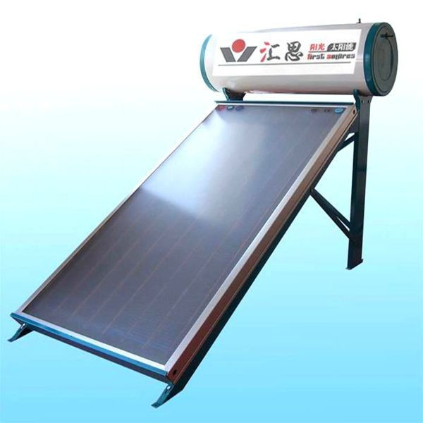 200L compact water heater with flat plate solar collector manufacturer in China(China (Mainland))