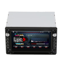 EDFY Guaranteed 100% Car DVD GPS 2DIN Car Stereo Radio GPS Bluetooth Player with rear view camera(China (Mainland))