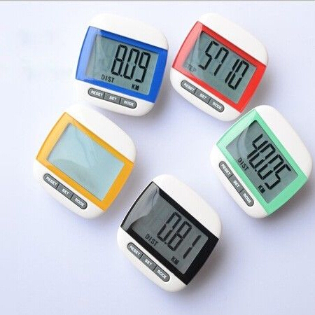 Multicolor Outdoor Walking Odometer Sport Exercise &amp; Fitness Equipment Multifunction LCD Pedometer Hiking Odograph Passometer<br><br>Aliexpress