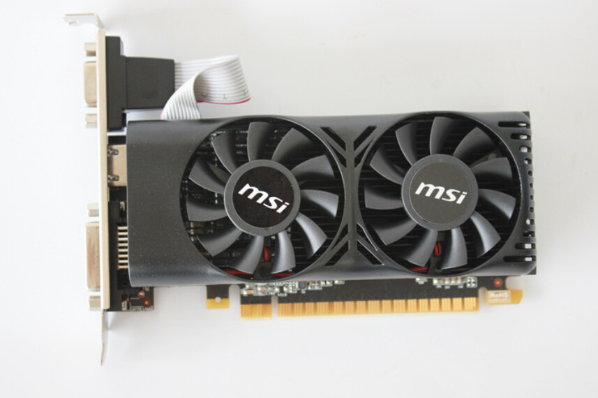 Buy New Graphics card for MSI N750TI-2GD5T LP GTX750 Ti 2G DDR5 video cards to send short knife baffle free shipping cheap