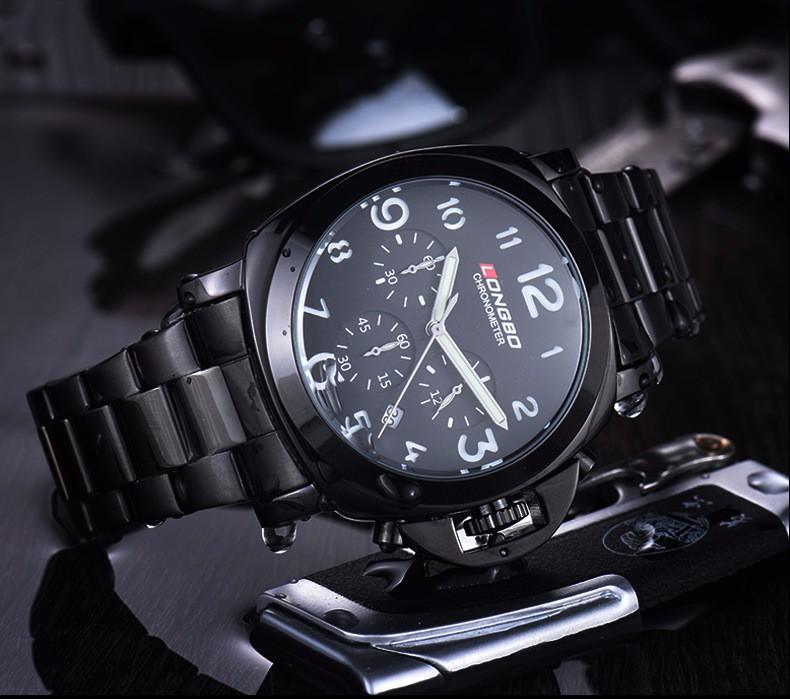 LONGBO Кварцевые Часы Люкс Мужская Часы 3ATM Водонепроницаемый Часы Наручные часы Мужчины Бизнес Часы Relogio Masculino Relojes Hombre