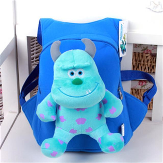 Крутой 3D монстры университет мультфильм плюшевые мешок школы мода милый рюкзак подарок для детей Mochila Infantil горячая распродажа