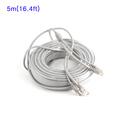 5M 16 4ft CCTV Camera Network Cable RJ45 12V DC Power CAT5 5e Extension Internet cabel
