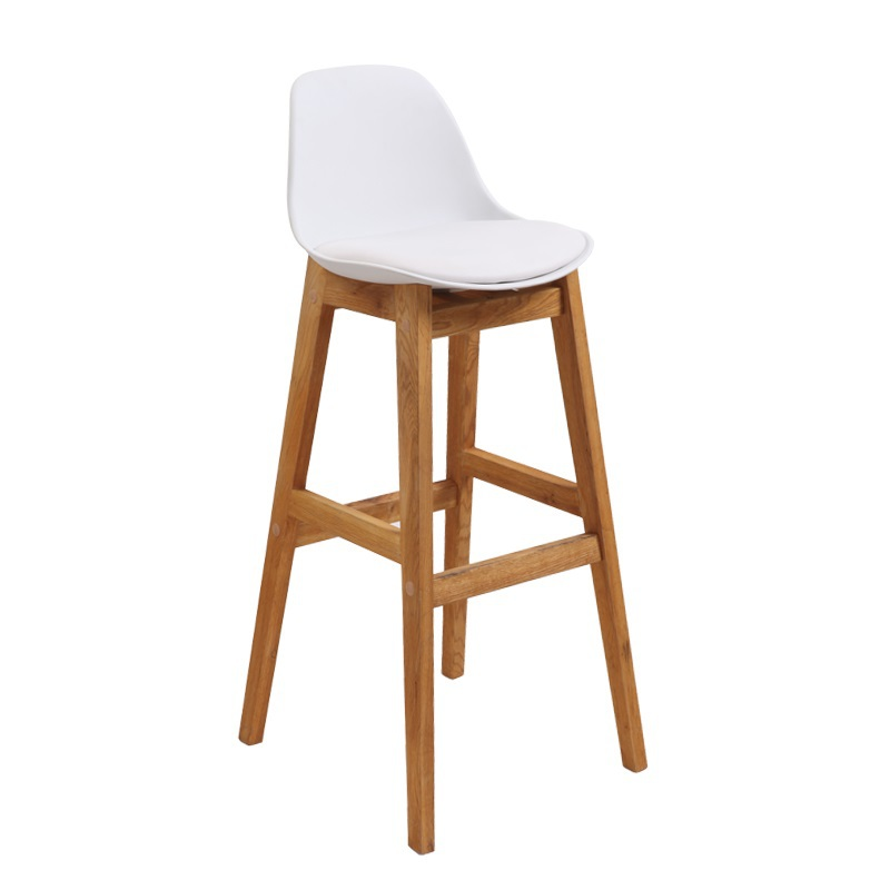 ECDAILY Burns Art Bar chair bar chairs reception chairs / tall stools wood bar stool K-3601 PP seat surface FREE SHIPPING(China (Mainland))