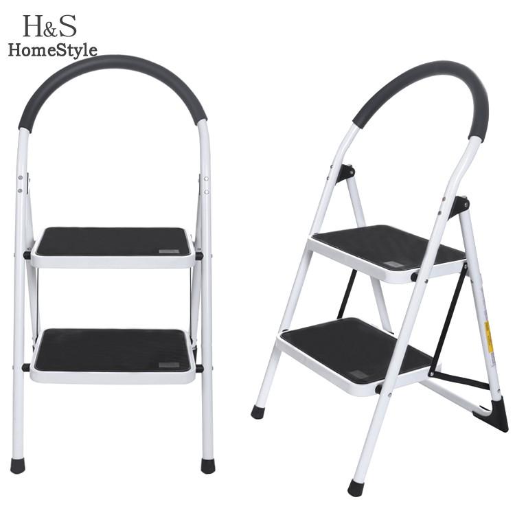 Portable Household Ladder 2 Steps Folding Stool Single Straight Ladders Stair Platform Lightweight Space Saving Homestyle US02(China (Mainland))