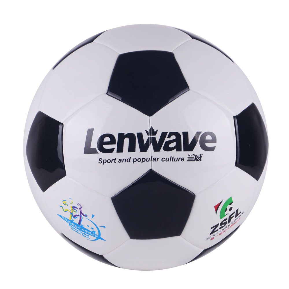White Black Classic Style European Champion League Football Soccer Ball PU Material Ball Size 4 Soccer Ball Training Ball(China (Mainland))