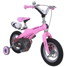 Blue Q Kids bicycles Kids bicycles magnesium alloy frame one child bike double disc brakes bicycle children(China (Mainland))