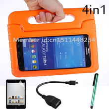 New Case For Samsung Galaxy Tab 4 7.0 T230 T231 Tablet Covers Children Kids Safe Thick Foam Shock Proof EVA Handle With Stand