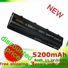 5200mAh Battery for HP 430 431 435 630 631 635 636 650 655 Pavilion dv5 dv6  dv7 g6 G32 G72 G42 G56 G72 MU06  MU09XL  WD548AA(China (Mainland))