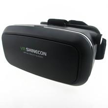 VR Shinecon Moke Virtual Reality 3D Glasses Headset Oculus Rift Head Mount 3D Movies Games Apps 2016 Google Cardboard 2.0