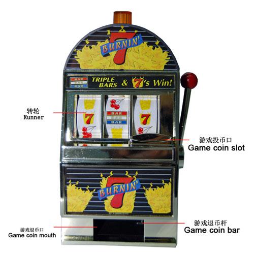USA Las vegas reczone slot machine piggy bank creative Storage tanks birthday gift Christmas gift electronic piggy money box(China (Mainland))