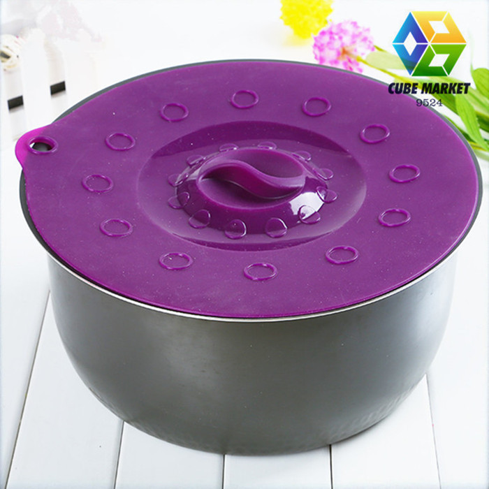 100% food grade Silicone Cup Lid,Seal Cup Cover,non-toxic tasteless fresh keeping seal bowl lids()