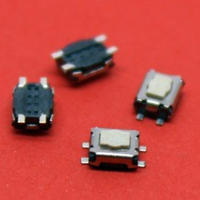 Mini White SMD 4 feet Switch Plum button touch switch Digital Camera Mobile Phone Tablet Reset switch / Torx touch button