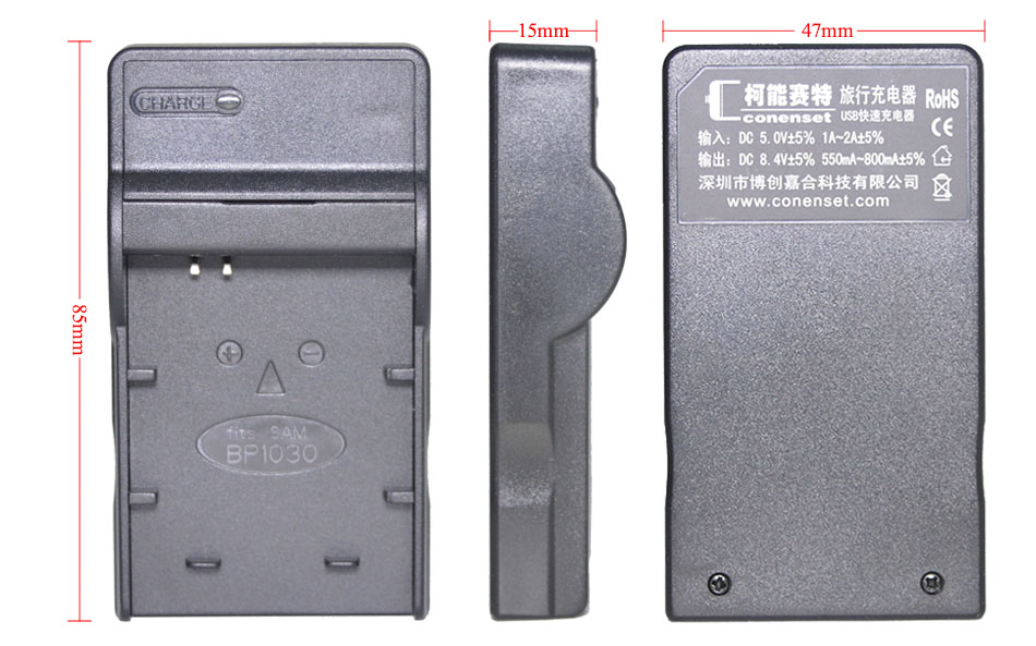 CONENSET 2PC NP-45 NP-45A Rechargeable Li-ion Battery + USB Charger for Fujifilm Fuji Z33WP Z250fd Z100fd Z10fd Camera