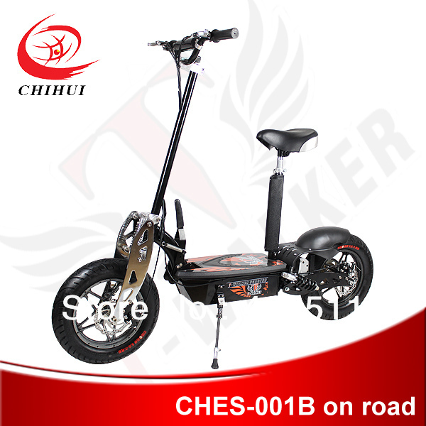"""Hot Selling High Quality 500W/800W/1000W 36V or 48V Foldable Electric Scooter with 12""""On-road Wheel&Chrome Front Fork(China (Mainland))"""