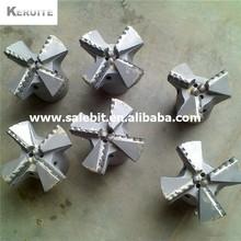 6 inch 4 wings hard rock PDC  non core drill bit(China (Mainland))