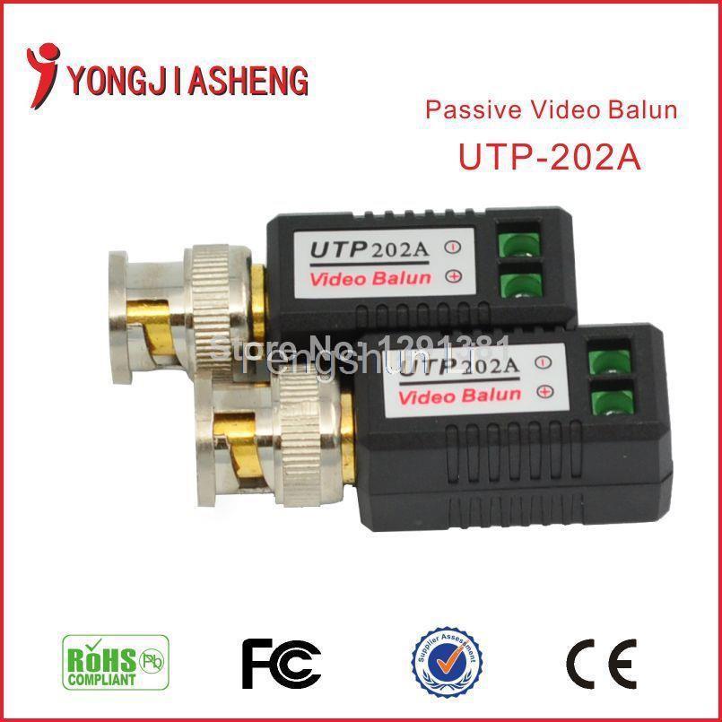 Twisted BNC CCTV Video Balun passive Transceivers UTP Balun BNC Cat5 CCTV free shipping(China (Mainland))