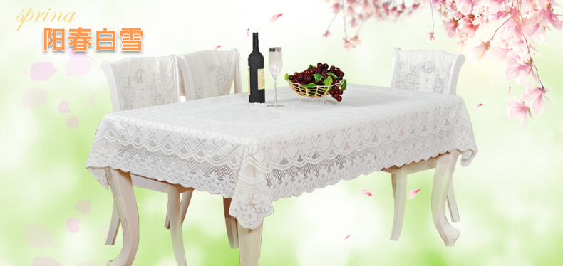 The milk white tablecloth table cloth table cloth table cloth tablecloth table mat square tablecloth(China (Mainland))