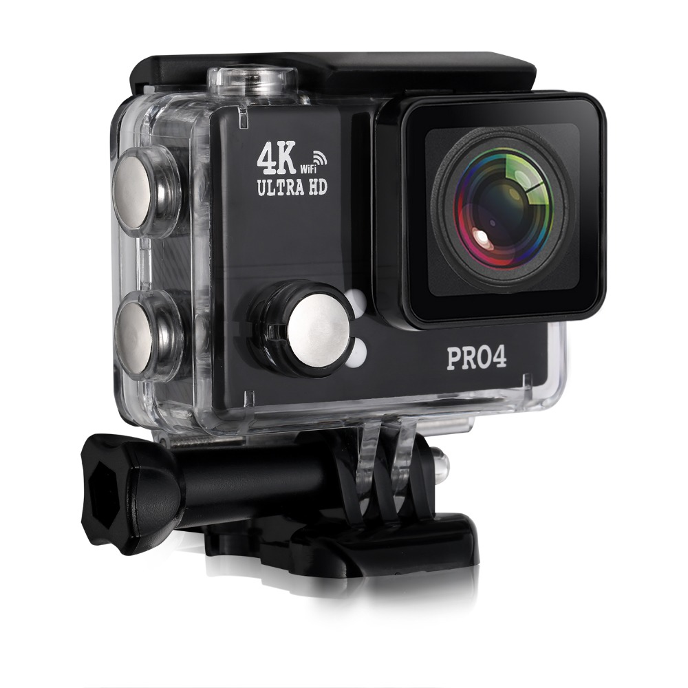 Pro4 WIFI Action Camera 170 Lens 2.7K 1080P 30FPS Ultra HD Sport DV Cam Outdoor for Phone Computer