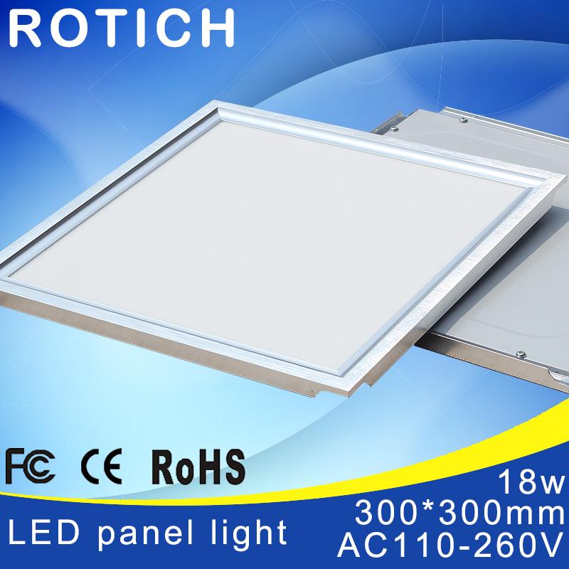 1pcs Factory Exwork price High brightness 300*300mm High quality Led Panel Light 18W 1250lms AC110-264V(China (Mainland))