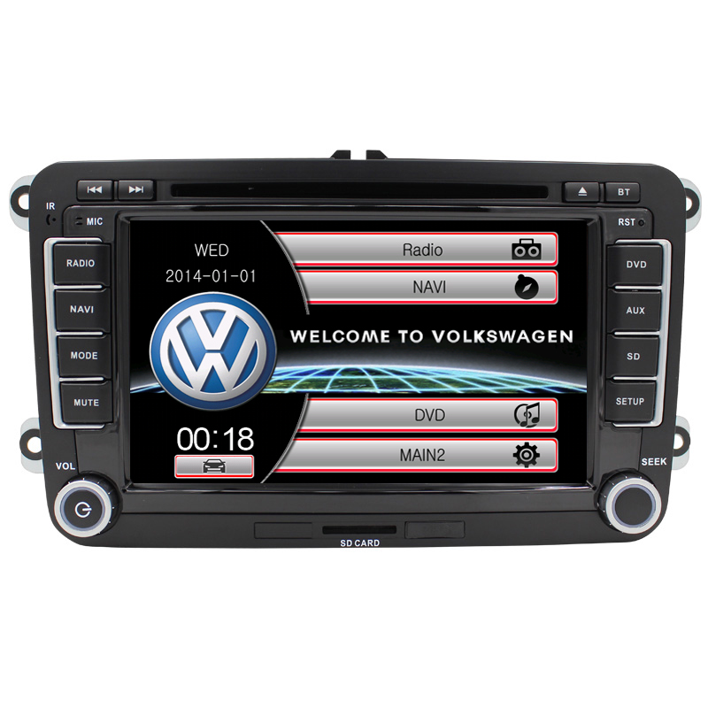 doube din car dvd for vw passat b6 car dvd gps with radio audio multimedia(China (Mainland))