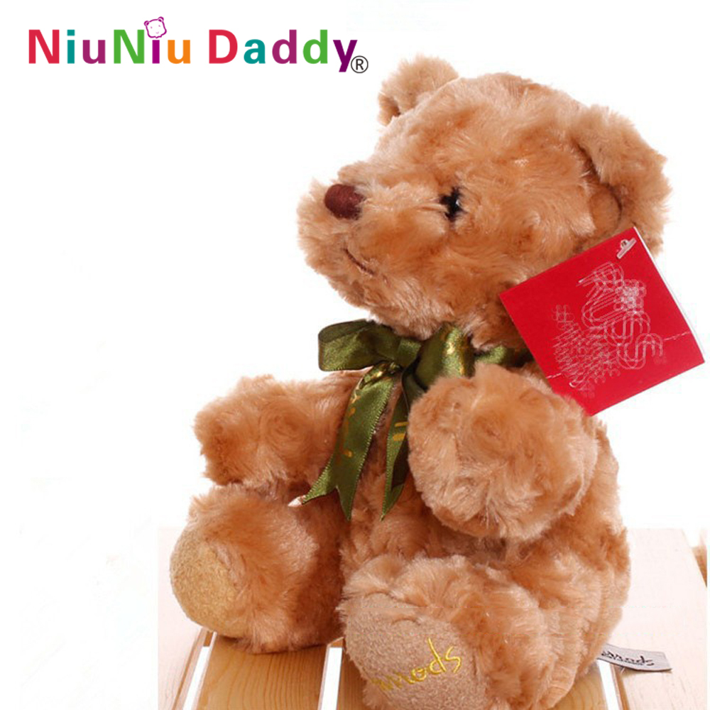 20CM 1piece Low price Plush toys teddy bear doll /lovers gifts birthday gift Free shipping(China (Mainland))